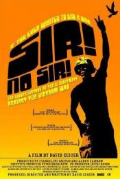 Affiche du film Sir! No Sir!