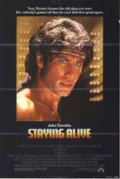 Affiche du film Staying alive