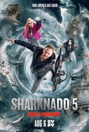 Affiche du film Sharknado 5