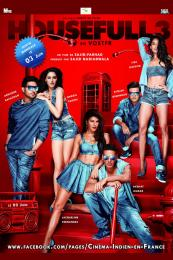 Affiche du film Housefull 3