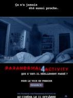 Affiche du film Paranormal Activity 4