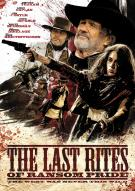 Affiche du film Last rites of Ransom Pride (The)