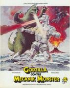 Affiche du film Godzilla contre Mecanik Monster