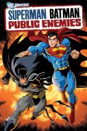 Affiche du film Superman/Batman : Ennemis publics