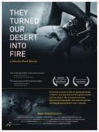 Affiche du film They Turned Our Desert Into Fire