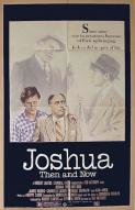 Affiche du film Joshua, then and now