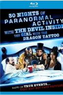Affiche du film 30 Nights of Paranormal Activity with the Devil Inside the Girl with the Dragon Tattoo