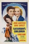 Affiche du film Saturday's Children