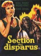 Affiche du film Section des disparus