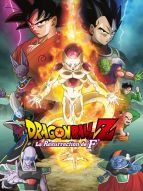 Affiche du film Dragon Ball Z - La Résurrection de 'F'