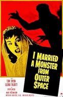 Affiche du film I Married a Monster from Outer Space