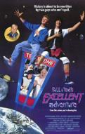 Affiche du film Bill & Ted's excellent adventure