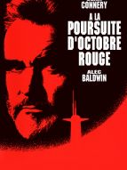 Affiche du film À la poursuite d'Octobre Rouge
