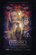 Affiche du film Star Wars : épisode I - La Menace fantôme