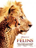 Affiche du film Félins : Le Royaume du courage