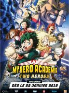 Affiche du film My Hero Academia : Two Heroes