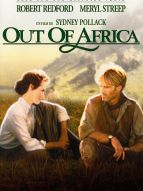 Affiche du film Out of Africa - Souvenirs d'Afrique