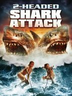 Affiche du film 2-Headed Shark Attack