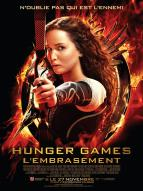 Affiche du film Hunger Games 2 - L'embrasement