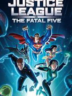 Affiche du film Justice League vs the Fatal Five