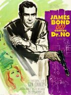 Affiche du film James Bond 007 contre Dr. No