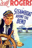 Affiche du film Steamboat round the bend