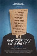 Affiche du film Brief Interviews with Hideous Men