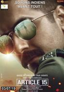 Affiche du film Article 15