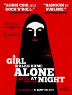 Affiche du film A girl walks home alone at night