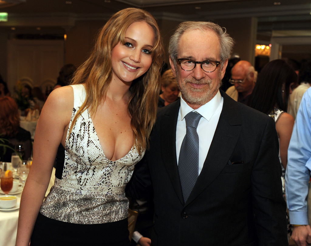 Steven Spielberg couple