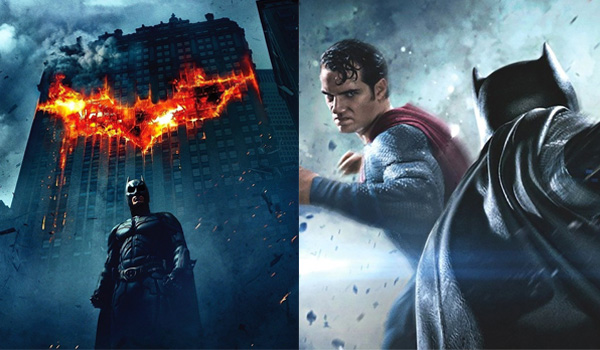 The dark knight VS Batman v Superman