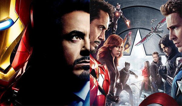 Film Clash Iron Man contre Captain America Civil War