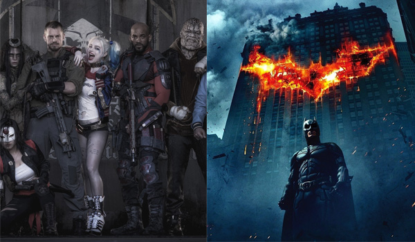 Film Clash Suicide Squad contre The Dark Knight