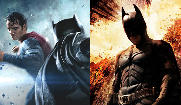 Film Clash Batman Superman vs Dark Knight Rises